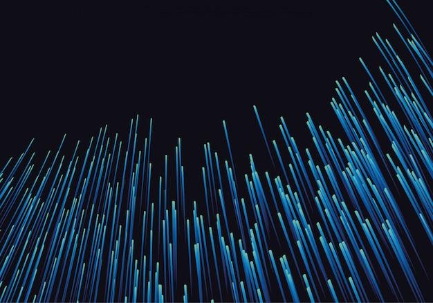 Linien, die aus leuchtenden hintergründen bestehen