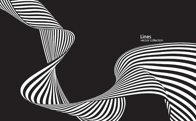Linien geeignet für dynamische tanzkulturmusik und designanwendungen