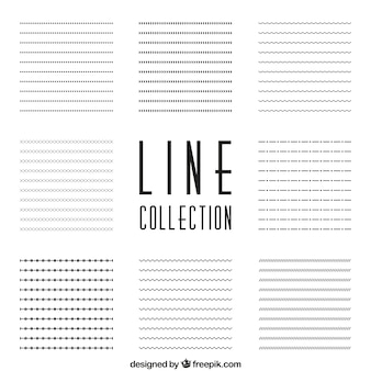 Linien sammlung