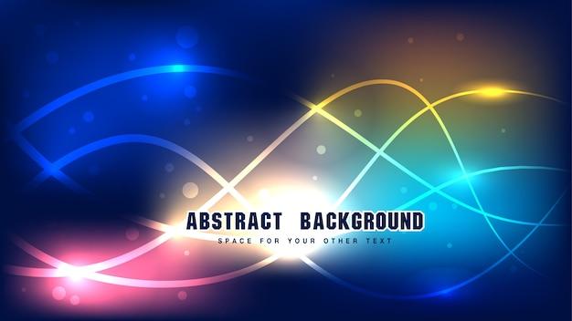 Linienverbindung abstrakter hintergrund