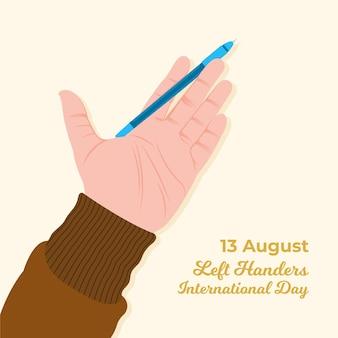 Linkshänder tag feiern