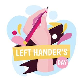 Linkshänder tag veranstaltung