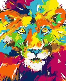 Lion Abbildung