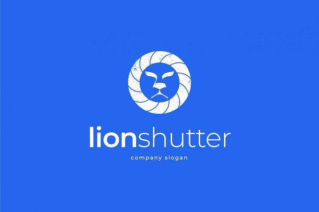 Lion shutter logo vorlage