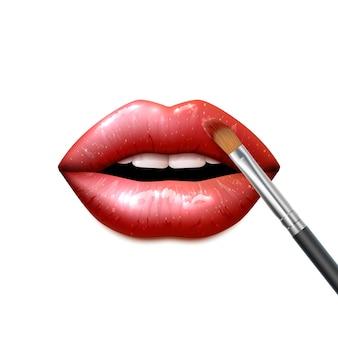 Lippen machen
