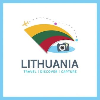 Litauen travel logo