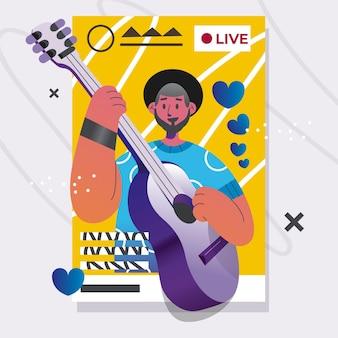 Live-event-konzept übertragen