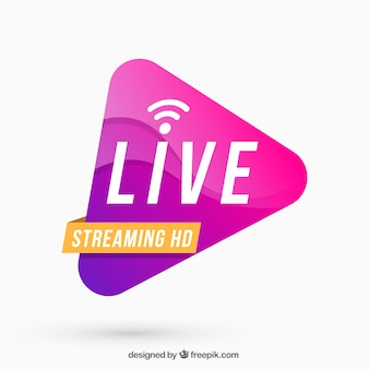 Live-streaming-hintergrund