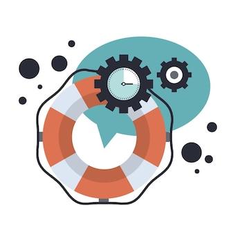 Live-support und technische online-hilfe