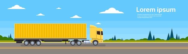 Lkw-anhänger straßengüterverkehr frachtverkehr