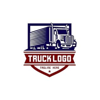 Lkw-logo-vektor stockbild
