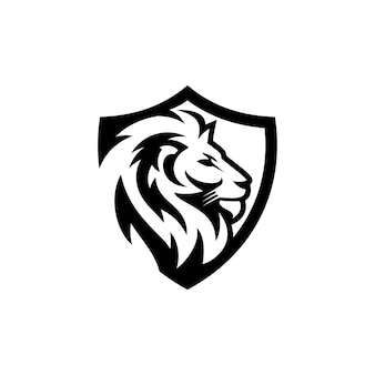 Löwe logo vektor vorlage