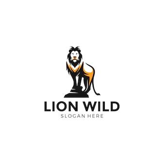 Löwe wild