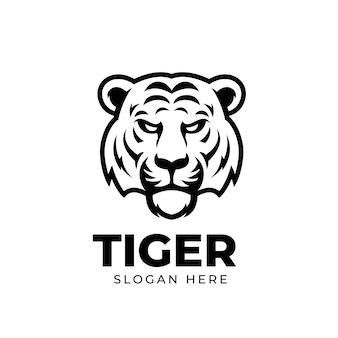 Löwen-kreatives design für geschäftsluxusmaskottchen-logoschablone