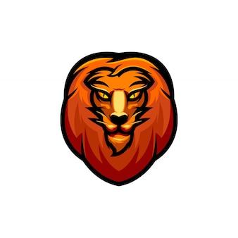 Löwenkopf clipart