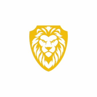 Löwenschild logo design