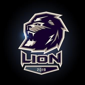 Löwesymbol esports logodesign
