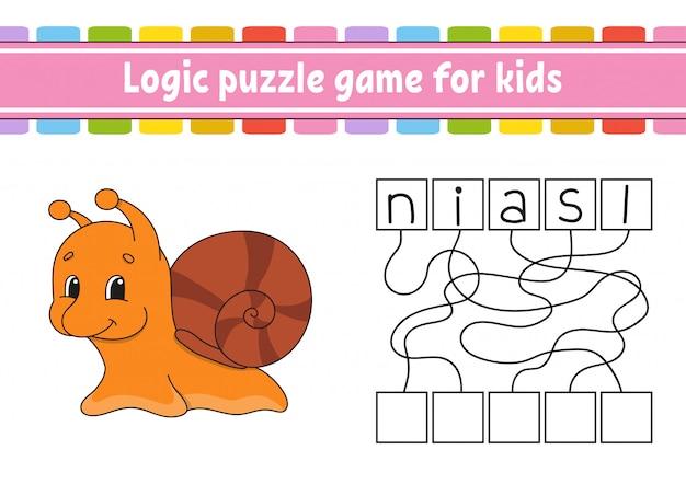 Logik puzzle-spiel.