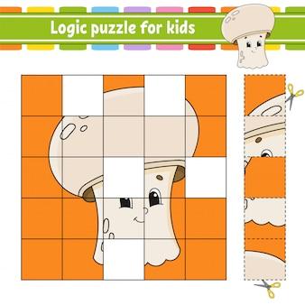 Logikpuzzle für kinder.