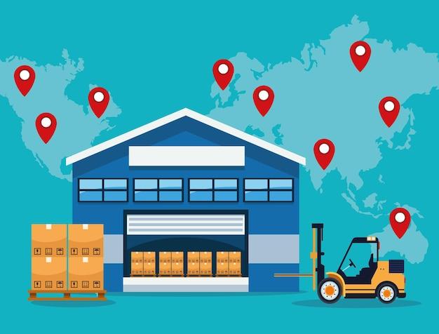 Logistikservice weltweit