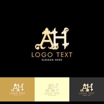 Logo ah, monogramm ah