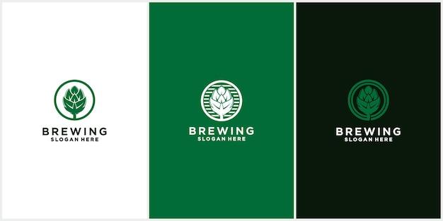 Logo bieretikett brauereiemblem