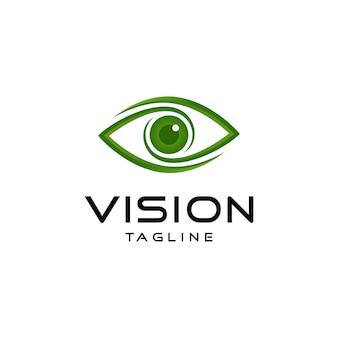 Logo der abstrakten vision