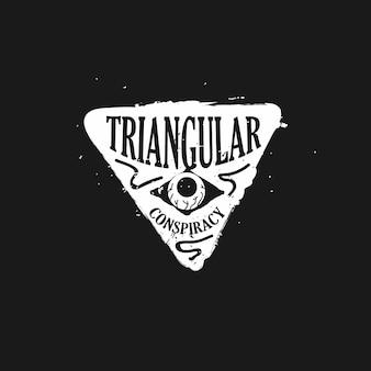 Logo der verschwörungstheorie