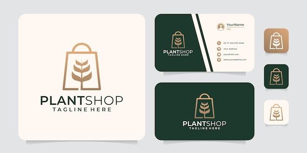 Logo des goldenen pflanzenladens