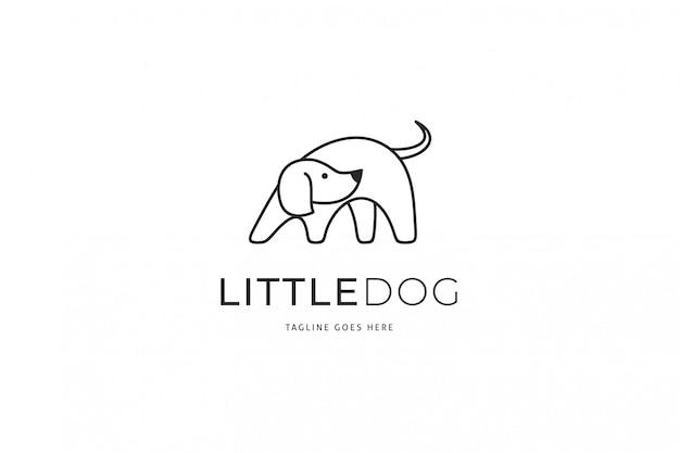 Logo des kleinen hundes