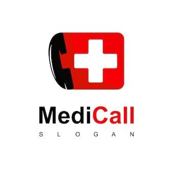 Logo des medizinischen krankenhauses