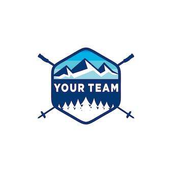 Logo des skiclub-emblems