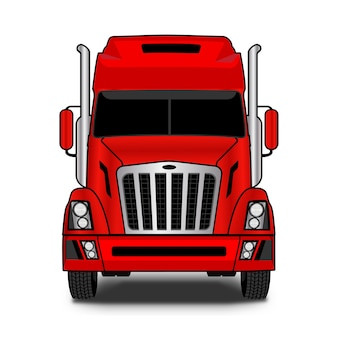 Logo-design der spedition