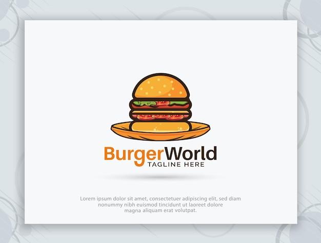 Logo-design des burger-shops