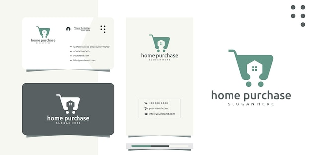 Logo-design für eigenheimkäufer oder immobilien- und baumakler