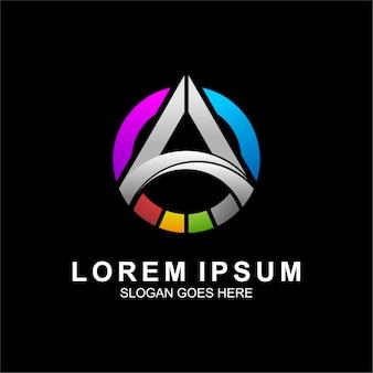 Logo design für technologie und computer