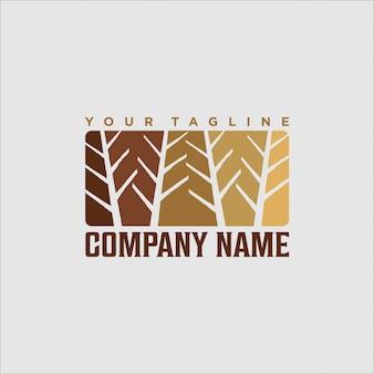 Logo-design für waldabenteuer