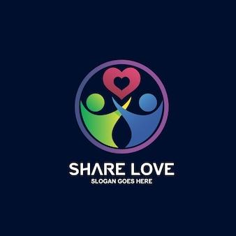 Logo-design für wohltätigkeitsorganisationen und medizin