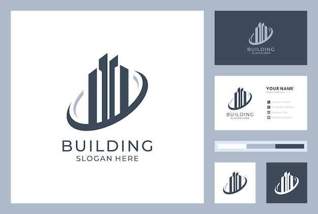 Logo-design mit visitenkarte erstellen