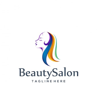 Logo design schönheitssalon