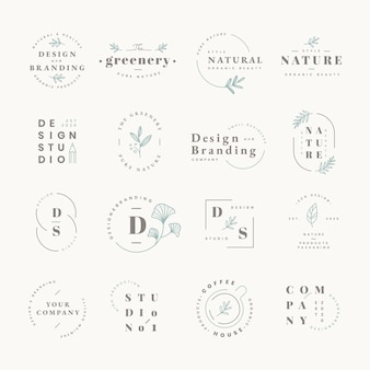Logo-design-set