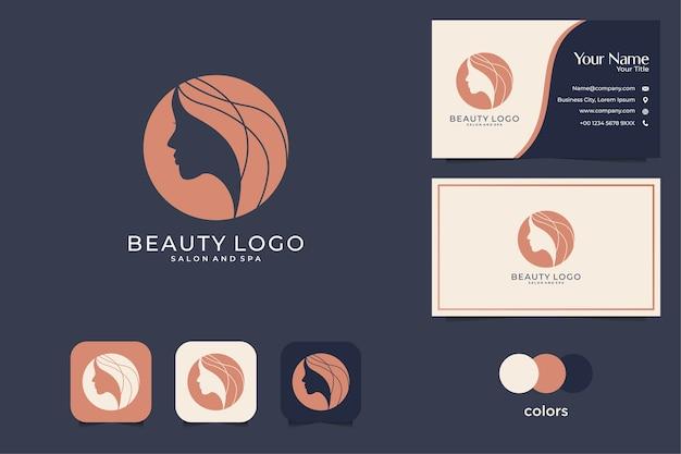 Logo-design und visitenkarte