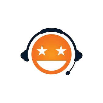 Logo-designvorlage für podcast-motivation