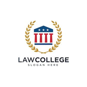 Logo einer anwaltskanzlei oder einer juristischen fakultät