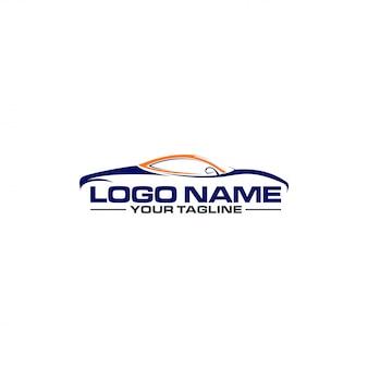 Logo eines sportwagens