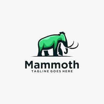 Logo elefantenmaskottchen
