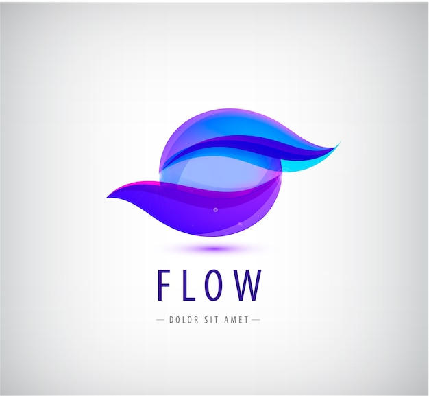 Logo firma isoliert auf weiß