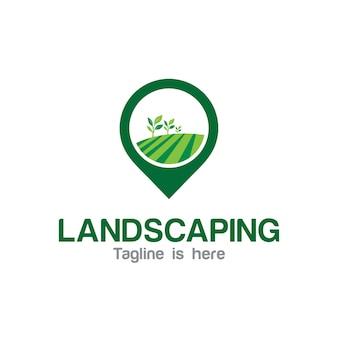 Logo für die landschaftsgestaltung
