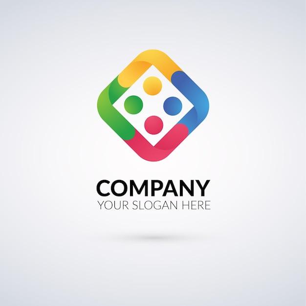 Logo für soziale aktivitäten