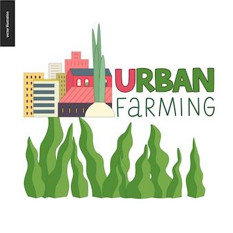 Logo für städtische landwirtschaft und gartenbau